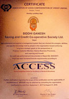Siddhi Ganesh Saving & Credit Co-Operative Society Limited